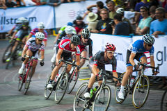 Gastown grand prix 2013 cykla lopp Arkivfoto
