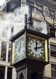 Gastown Steam Clock. This is the steam clock in Gastown in Vancouver, BC Royalty Free Stock Images