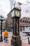 Gastown Steam Clock, Vancouver, Canada royalty free stock photos
