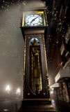 Gastown Steam Clock in Vancouver Stock Image