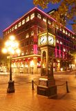 Gastown in Vancouver, Canada Royalty-vrije Stock Foto