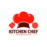 Gastronomia logo ilustracji