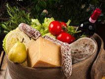 Gastronomic products Royalty Free Stock Photos