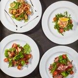 Gastronomiczny menu luksusowa restauracja obraz stock