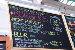 Gastronomie bij het Correcte 2013 Festival van Heineken Primavera Royalty-vrije Stock Afbeeldingen