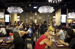 Gastronomiebereich in Taipeh 101 Lizenzfreie Stockbilder