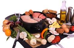 Gastronomisch al La het Nederlands stock foto's