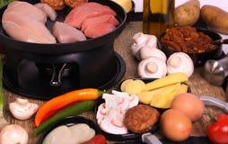 Gastronomisch al La het Nederlands royalty-vrije stock afbeeldingen