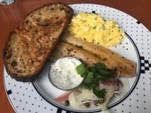 Gastronomisch Amerikaans Ontbijt royalty-vrije stock afbeeldingen
