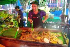 Gastronomisch festival in Juayua royalty-vrije stock foto's