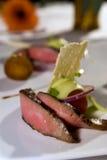 Gastronomisch filethaakwerk mignon Stock Fotografie