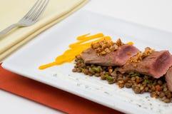Gastronomisch geïsoleerda voedsel. royalty-vrije stock fotografie