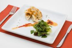 Gastronomisch geïsoleerdi voedsel. royalty-vrije stock foto