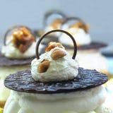 Gastronomisch gebakje royalty-vrije stock foto's