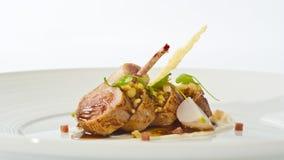 Gastronomisch lam royalty-vrije stock fotografie