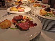 Gastronomisch organisch vers voedsel royalty-vrije stock afbeelding