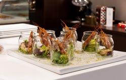 Gastronomisch restaurant stock fotografie