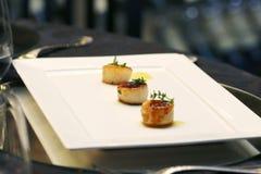 Gastronomisch und feinschmeckerisch Stockbild
