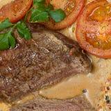 Gastronomisch vlees - restaurantvoedsel stock fotografie