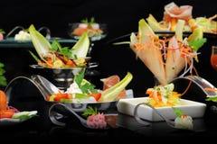Gastronomisch voedsel royalty-vrije stock fotografie