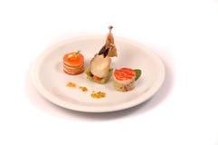Gastronomisch voedsel Stock Foto