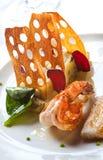 Gastronomisch voedsel Stock Foto's