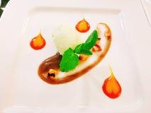 Gastronomisch voedsel royalty-vrije stock afbeelding