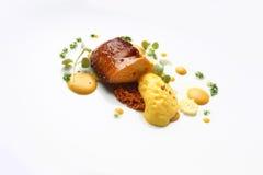 Gastronomisch voedsel foie gras royalty-vrije stock afbeeldingen