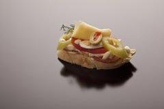 Gastronomisch voorgerecht Royalty-vrije Stock Foto's