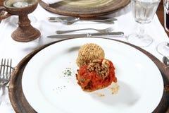 Gastronomisch Voorgerecht stock foto's