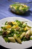 Gastronomische aspergesalade Royalty-vrije Stock Foto's