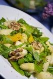 Gastronomische aspergesalade Royalty-vrije Stock Afbeelding