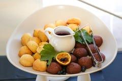 gastronomische cakessnoepjes Royalty-vrije Stock Foto