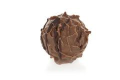 Gastronomische chocoladetruffel Stock Afbeeldingen