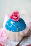 Gastronomische cupcake stock foto's