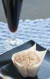 Gastronomische Cupcake Royalty-vrije Stock Foto's