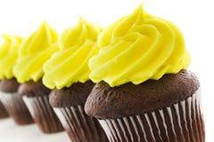 Gastronomische cupcakes Stock Foto