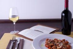 Gastronomische cursus royalty-vrije stock afbeeldingen