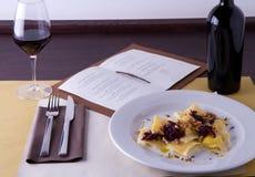 Gastronomische cursus royalty-vrije stock foto's