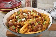 Gastronomische frieten stock foto's