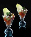Gastronomische groentensalade royalty-vrije stock fotografie