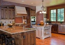Gastronomische Keuken Stock Afbeeldingen