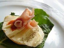 Gastronomische lunch royalty-vrije stock afbeelding