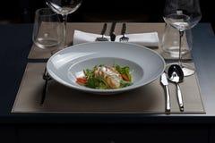 Gastronomische maaltijd Royalty-vrije Stock Afbeeldingen