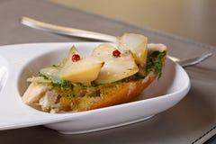 Gastronomische maaltijd Stock Fotografie