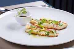 Gastronomische maaltijd Royalty-vrije Stock Afbeelding