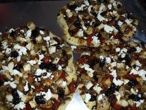 Gastronomische Pizza royalty-vrije stock afbeeldingen