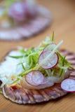 Gastronomische salade Stock Fotografie