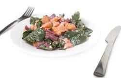 Gastronomische salade Royalty-vrije Stock Afbeeldingen