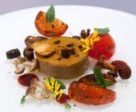 Gastronomische Schotel Antipasto stock afbeelding